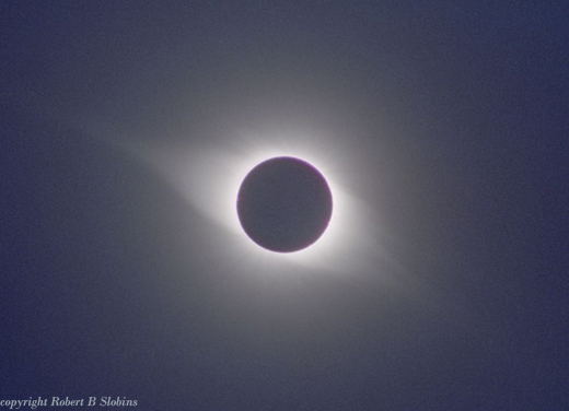 Solar Corona, Large Scale, Dundlod - India       24 October 1995